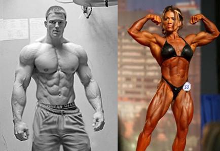 Mauvais exemple de bodybuilders