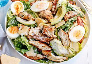 Salade géante pour maigrir facilement et durablement avec plaisir