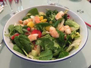 Exemple de salade pour sécher facilement