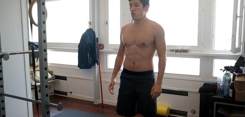 Circuit training sans matériel: muscler les abdos cuisses et lombaires en 15 min