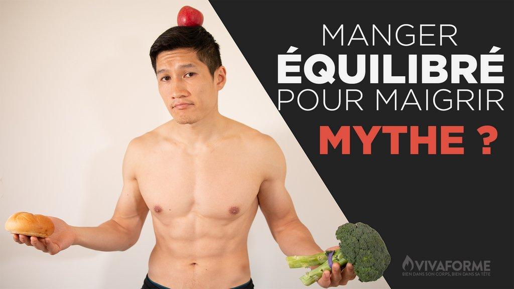 Manger équilibrer pour maigrir : mythe ou réalité ?