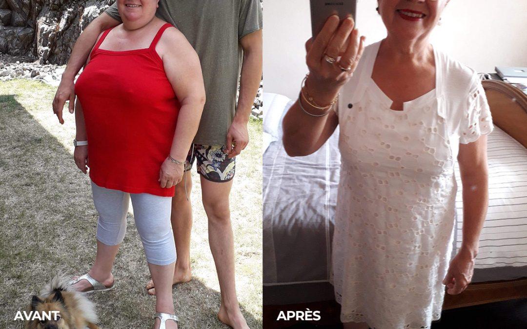 Témoignage de Nicole : Perte de poids de 20kg !